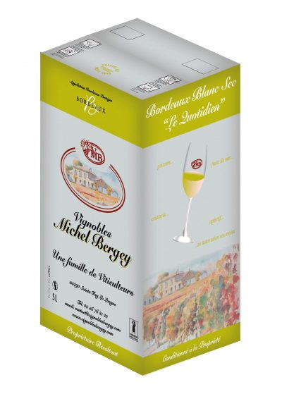 Vinibag blanc Vignobles Michel Bergey