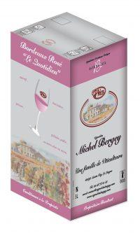 Vinibag rosé Vignobles MIchel Bergey